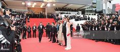 Carole Bouquet, Nicolas Winding Refn, Leila Hatami and Gael Garcia Bernal attend the Opening Ceremony and the 'Grace of Monaco' premiere during the 67th Annual Cannes Film Festival on May 14, 2014 in Cannes, France.