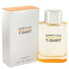 Kenneth Cole Reaction T-shirt Cologne by Kenneth Cole 3.4 Oz EDT