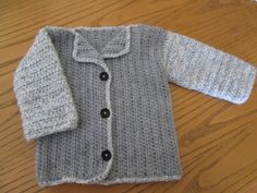 Little sweater I made for Vincent!