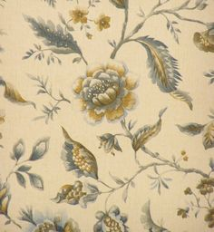 Design vinyl wallpaper 'Kashmir blue' manufactured by Coloroll