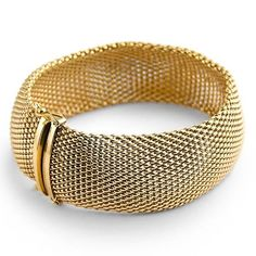 bracelets for women | ... Gold Jewelry | Pierotucci | Bracelet in a mesh style weave for women