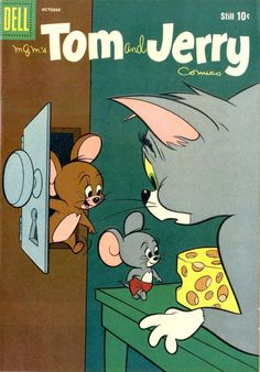 Tom and Jerry 1960 comic Vintage Comic Books, Vintage Cartoon, Vintage Comics, Vintage Ads, Vintage Posters, Tom Y Jerry, Tom And Jerry Cartoon, Tom And Gerry, Comics Und Cartoons