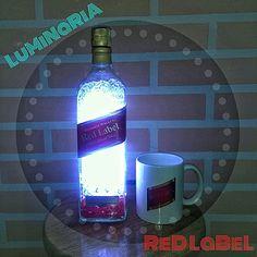 #luminariadegarrafa#redlabel#abajour#whisky#artesanato#dolixoaoluco