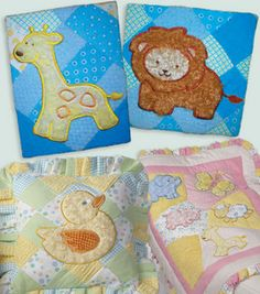 Applique Nursery Projects  Project courtesy of Springs GlobalSkill Level: Some experience necessary  (1) Crafting Time: Varies Skill Level: Some experience necessary