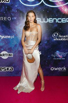 JULKA  WIENIAWA - 2019 Elegant Dresses, Formal Dresses, Event Solutions, Poland, Strapless Dress Formal, Saint Laurent, Satin, Shoulder, Celebrities