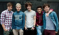 That was when their hair all went in one direction