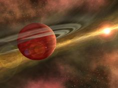 HD 106906b: Unique Super-Jupiter Exoplanet Discovered Dec 6, 2013 by Sci-News.com The planet, named HD 106906b, weighs in at 11 times Jupiter's mass. It orbits a white main-sequence star, HD 106906A, located in the constellation Crux around 300 light-years away from Earth. An international team of astronomers announced the discovery of a giant extrasolar planet orbiting its star at more than 20 times the average Neptune-Sun distance.