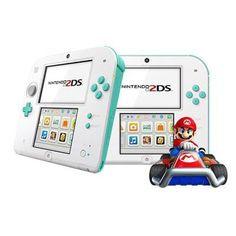 Nintendo 2DS Sea Green w Mario