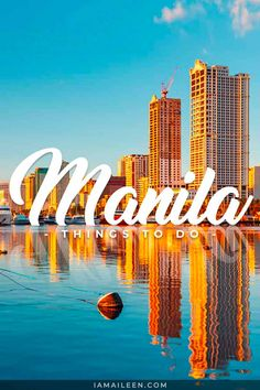 BEST Things to Do in Manila: there are tons of activities and sights in the metro before you head off to the country's islands! // #Manila #Philippines Travel Guides, Travel Tips, Travel Advice, Budget Travel, Manila Philippines, Philippines Travel, Rizal Park, Fort Santiago, Sm Mall Of Asia