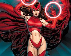 Scarlet Witch / la bruja escarlata