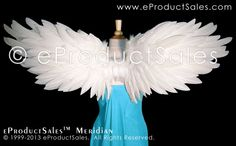 Make Feather Angel Wings   eProductSales Meridian Feather Angel Wings Wearable art Professional ...