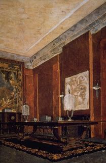 Art Deco Interior with furniture designed by Emile-Jacques RUHLMANN (hva)