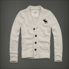 Abercrombie and Fitch Guys | Cheap Abercrombie And Fitch Casual Beige White V Neck Men Sweater In 4 ...