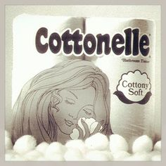 Did you know that Cottonelle bathroom tissue launched in 1973? Here's what our packaging looked like then.