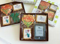 Caja pack de galletas para San Jordi de La Galletería de Tastery