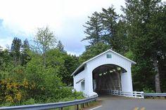 Photographing Oregon Earnest Covered Bridge, Lane County, Oregon