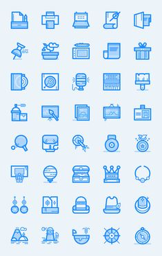 Birply Icons Vol2 Icons AI Flat Free Graphic Design Icon Resource SVG Vector