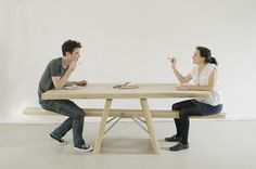 Want To Ride A Seesaw Again? Then Sit Down At This Table!  ... see more at InventorSpot.com