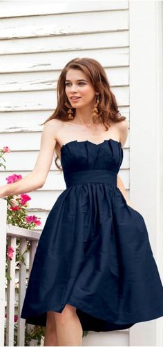 I can't decide if I like this for the maid of honor or for me after the ceremony :)
