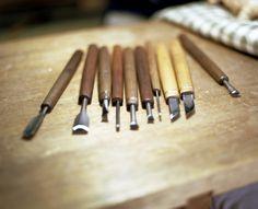 井波彫刻の彫刻刀 http://www.nanto-yui.jp/list/handcraft.php