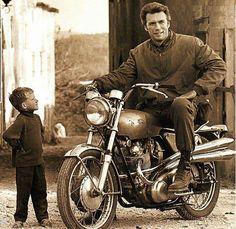 Clint Eastwood Norton 1970