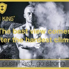 The best view comes after the hardest climb. www.iron-king.eu  #fitness #fit #fitnessblog #trainingsprogramm #pushhard #gostrong #healthylifestyle #motivation #mantra #monday Mantra, My King, Nice View, Fitness, Iron, Training, Photo And Video, Motivation, Instagram