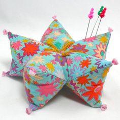 Star Pillow and Pincushion Tutorial Pattern