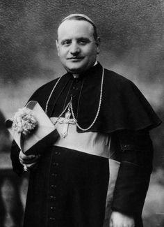 Angelo Roncalli, the future Pope John XXIII