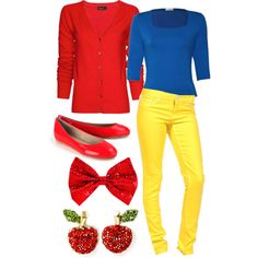 Snow White Modem Outfit #1, created by iwantfd on Polyvore