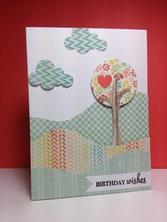 Trendy Treetops by beesmom - Cards and Paper Crafts at Splitcoaststampers