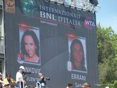 Errani Vs. Jankovic