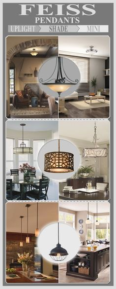 Murray Feiss Pendant Lights Infographic