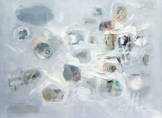 Sarah Otts, 'Frantic Order', Mixed Media on Canvas, 36x48 - Anne Irwin Fine Art