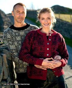 Voss. Oppskrift 22205 i hefte Dalegarn Heilo nr 222 Norwegian Knitting, Fair Isle Knitting, Norway, Knits, Knitwear, Men Sweater, Sweaters, Pattern, Shopping