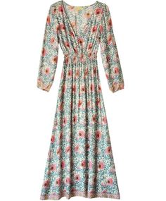 Cream Flowers April Dress