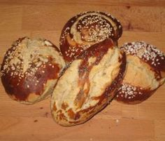 Rezept Laugengebäck Rezept des Tages 19.9.15 von kruemelmonster - Rezept der Kategorie Brot & Brötchen