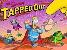 Simpsons Tapped Out Superhero Update Episode #3