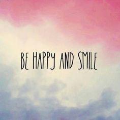 Se feliz, canta, baila, ama mucho y por sobre todo sonríe. (Eso fastidia a los que te quieren hundir) =)