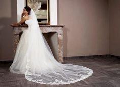 Lange bruidssluier