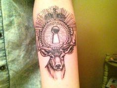 ... Tattoo inspiration on Pinterest   Peacocks Deer tattoo and Posts