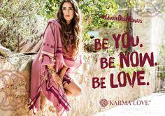 """""""Sei du selbst, alle anderen gibt es schon"""", hat Oscar Wilde gesagt. In anderen Worten: Versuche nicht, jemand anders zu sein. Sei aus ganzem Herzen du. Komme an bei dir. Lass Deinen Geist ruhen und genieße den Augenblick. Umarme dein unverwechselbares Ich – und die ganze Welt. Karma Love. /// Be you. Be now. Be love. /// #KarmaLove #QuoteDesMonats #spirituality #yoga #werisebyliftingothers #meaningfulfashion #yogalove #yogalife #Ibiza #Travel"""