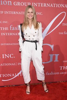 German model Anna Ewers attends the 2017 FGI Night Of Stars Modern Voices gala at Cipriani Wall Street on October 26 2017 in New York City