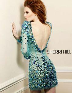 Trajes de Coctel 2013 Sherri Hill. Coleccion Otoño Invierno.