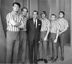 Beach Boys with Ed Sullivan... 1960's