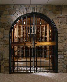 Nice Grand Entrance to Cellar
