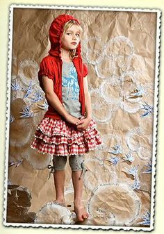 Paper Wings Red Plaid Skirt Size 3 - The Crooked Little Path