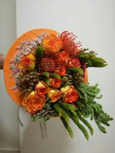 Wedding Arrangements, Floral Wreath, Wreaths, Fall, Home Decor, Autumn, Floral Crown, Decoration Home, Door Wreaths