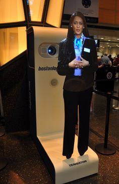 A new virtual assistant at the Logan Airport in Boston