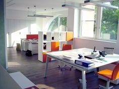 Panoramica dell'ufficio finito