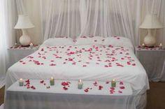 Romatic Wedding ceremony Night Bed room